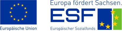 ESF_EU_Logokombi_Sachsen